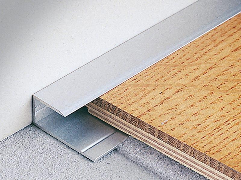 Terminal edge profile for wooden and laminate floors for Laminate floor trim