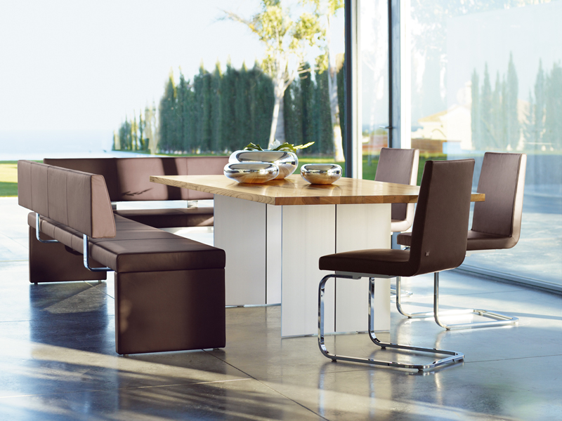 Cantilever leather chair rolf benz 620 collection by rolf for Rolf benz 620