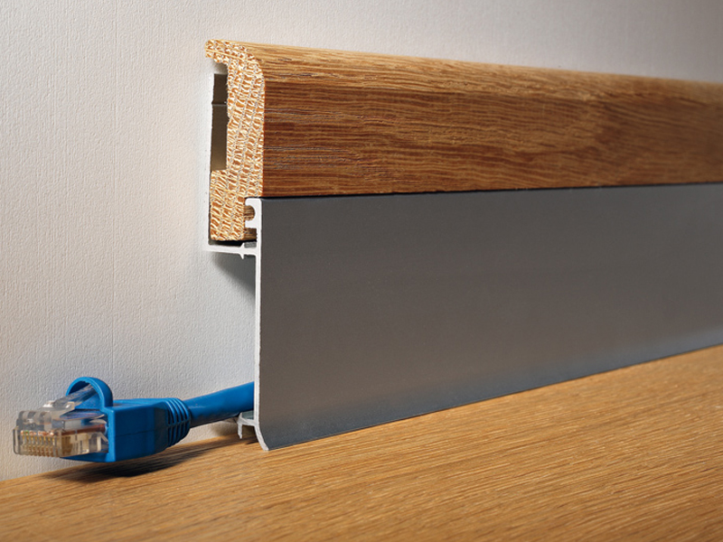 bi bicolor plinthe by profilitec. Black Bedroom Furniture Sets. Home Design Ideas