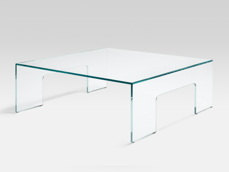 Table basse carr e en verre de salon rolf benz 8370 by for Tables basses de salon en verre