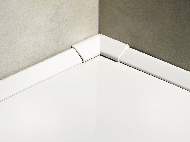 Raccords en m thacrylate pour baignoires et bacs douche sanitec sb 18 ligne - Protection douche pour baignoire ...
