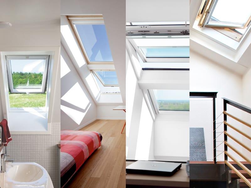 Finestra da tetto velux elevata prestazione termica by velux for Finestra da tetto