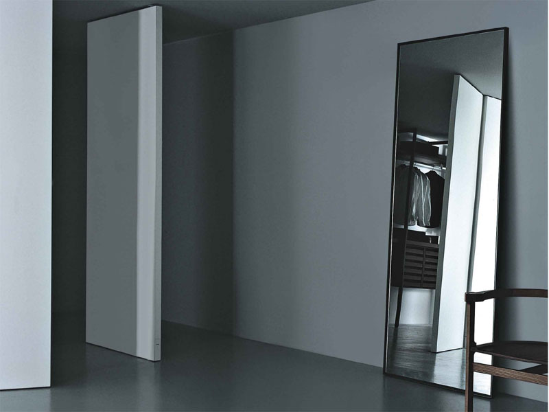 Specchio da terra rettangolare reflection by porro design - Specchio da terra economico ...