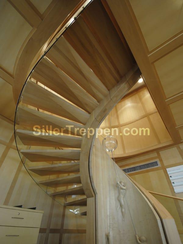 Scala a chiocciola europa art by siller treppen for Scala a chiocciola 3d