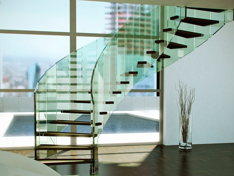 escalera de caracol fly by siller treppen. Black Bedroom Furniture Sets. Home Design Ideas