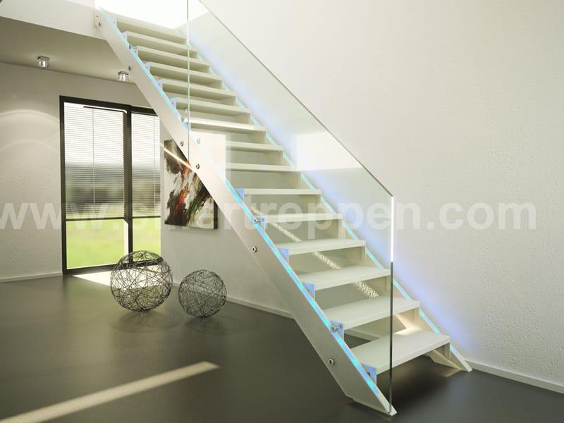 Escalier ouvert en bois et verre future by siller treppen - Escalier ouvert ...