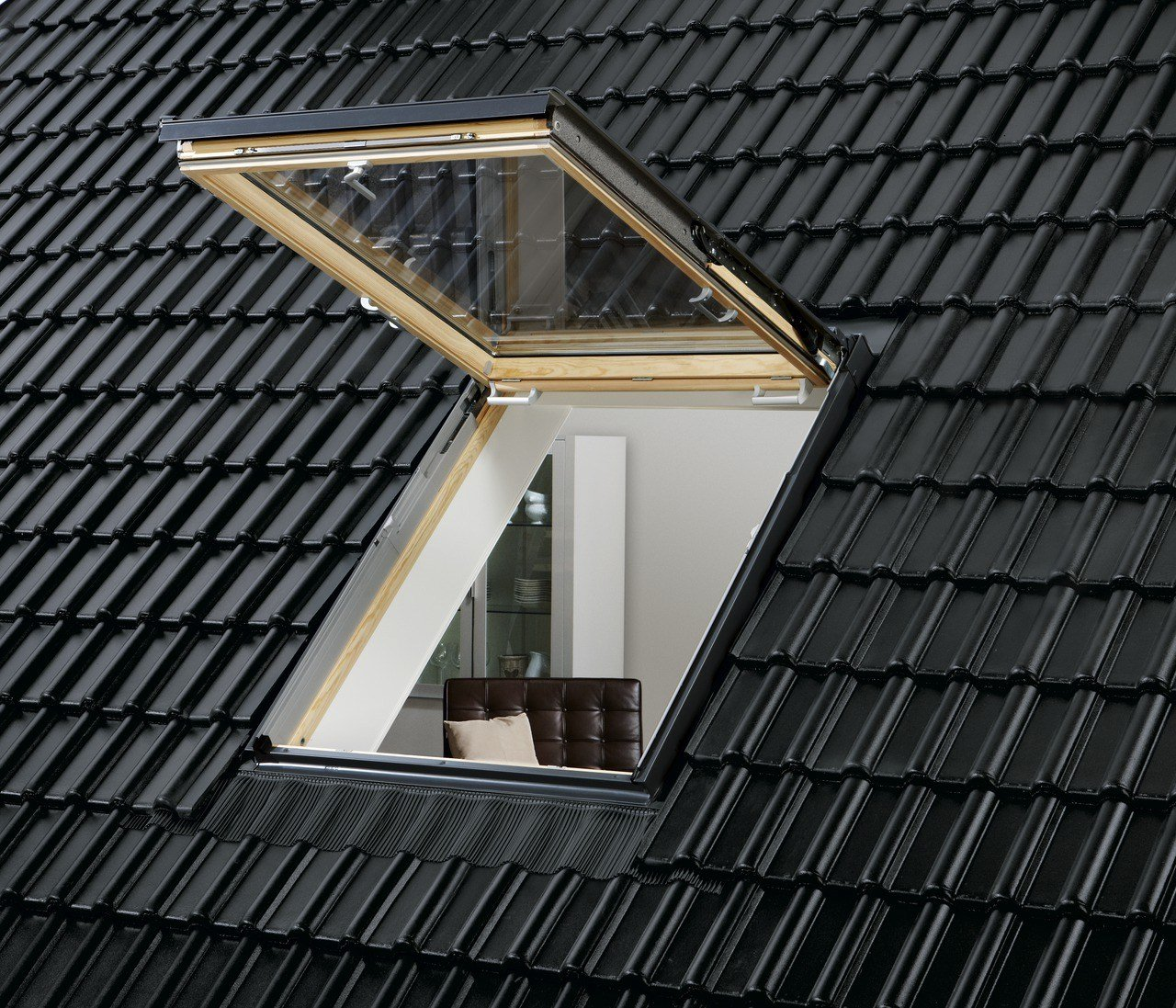 Roof window velux linea vita gtl gtu by velux for Velux glass