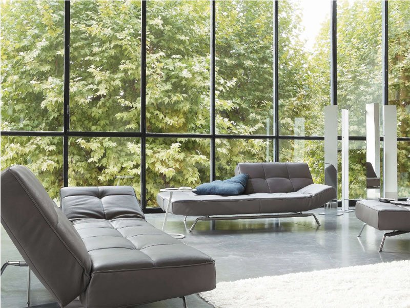 recliner sofa smala by roset italia design pascal mourgue. Black Bedroom Furniture Sets. Home Design Ideas