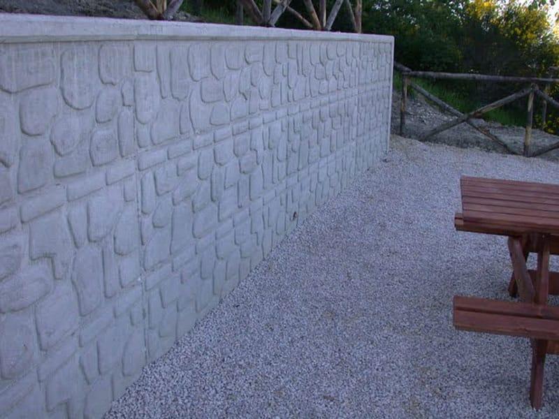 Matrice per parete facciavista in calcestruzzo stampi per superfici by didor italia - Stampi per decorare pareti ...