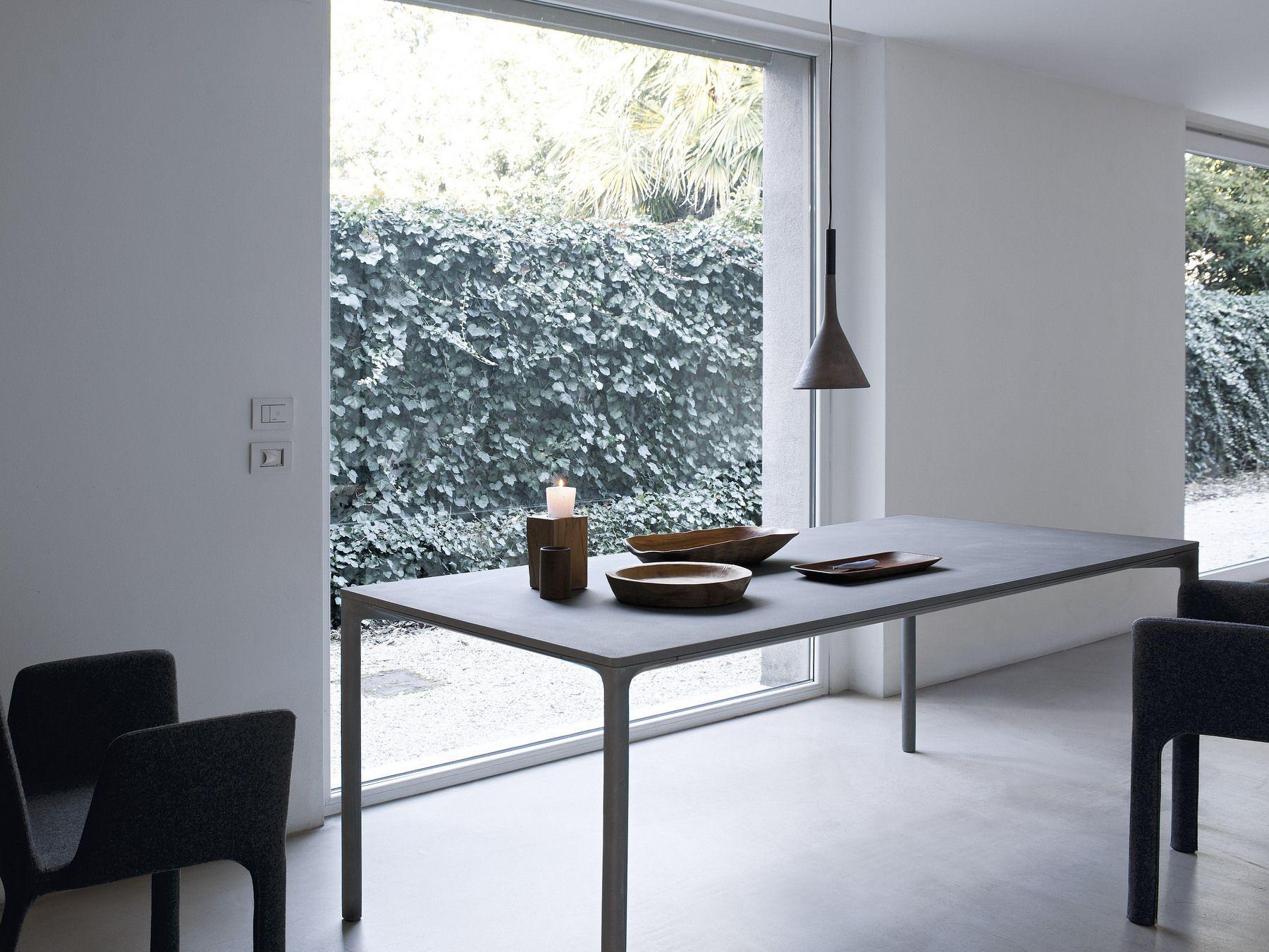 Boiacca tavolo rettangolare by kristalia design lucidipevere for Tavolo rettangolare design