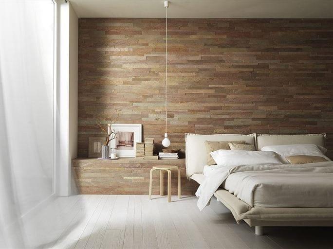 Murales revestimento de parede de pedra natural by artesia - Revestir paredes interiores ...
