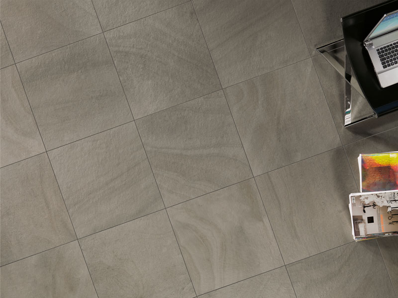 Porcelain stoneware wall floor tiles with stone effect for Carrelage 40x80