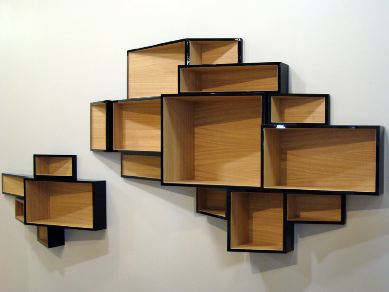 wall mounted mdf bookcase shellf by kristalia design ka lai chan. Black Bedroom Furniture Sets. Home Design Ideas