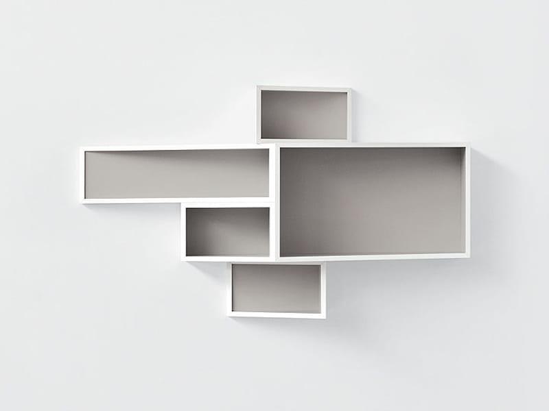 wand b cherregal aus mdf shellf by kristalia design ka lai chan. Black Bedroom Furniture Sets. Home Design Ideas