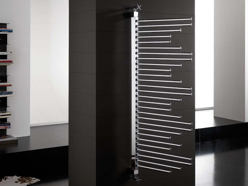 S che serviettes pivotant movesystem by deltacalor for Radiateur seche serviette design