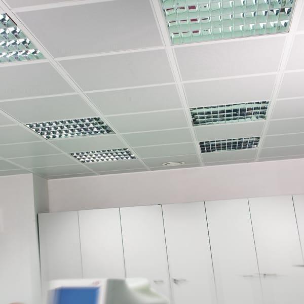 Falso techo en acero metal modular by atena - Acero modular precios ...