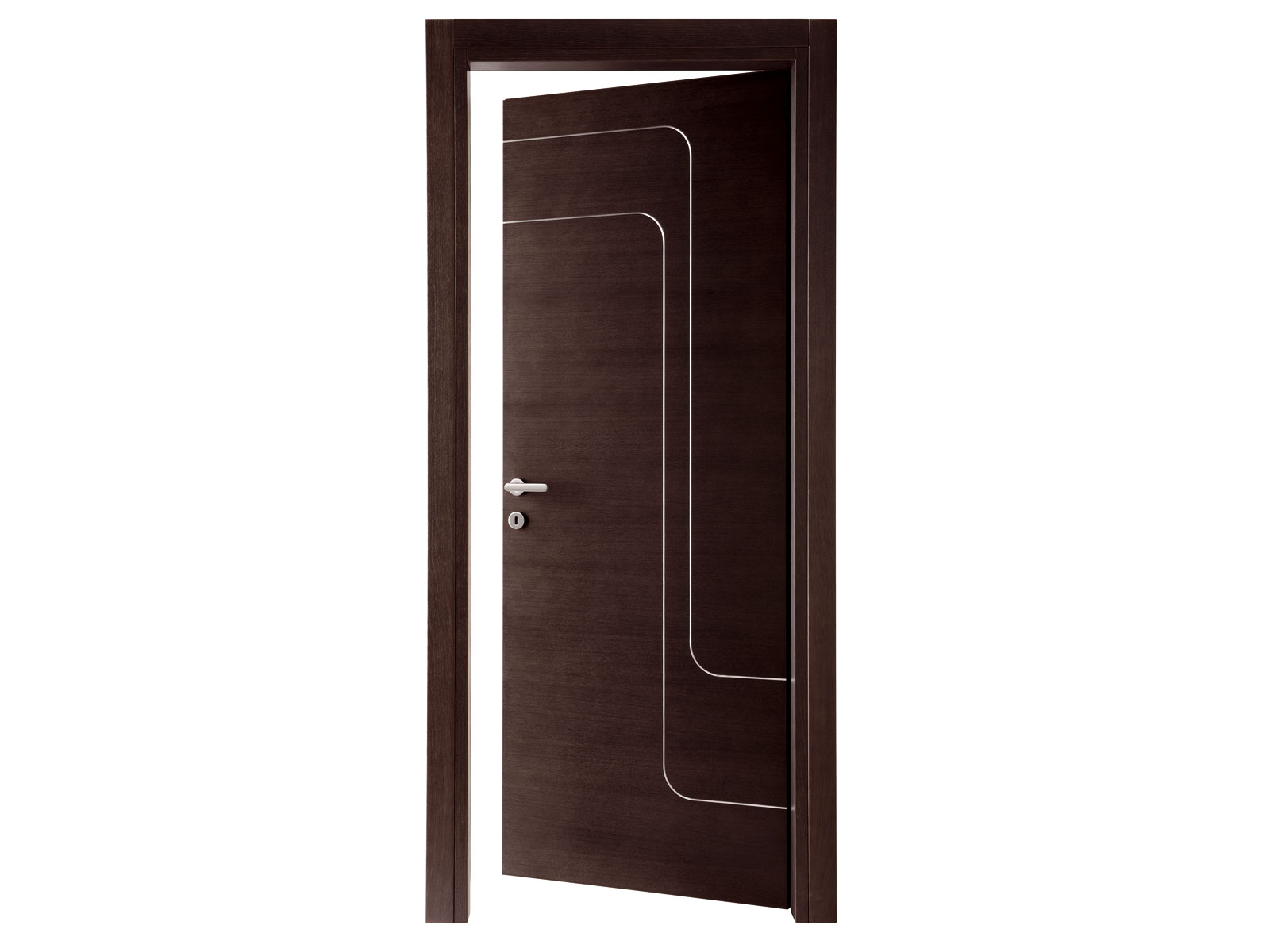 Hinged wooden door jet by ghizzi benatti design perusko for Door design catalog