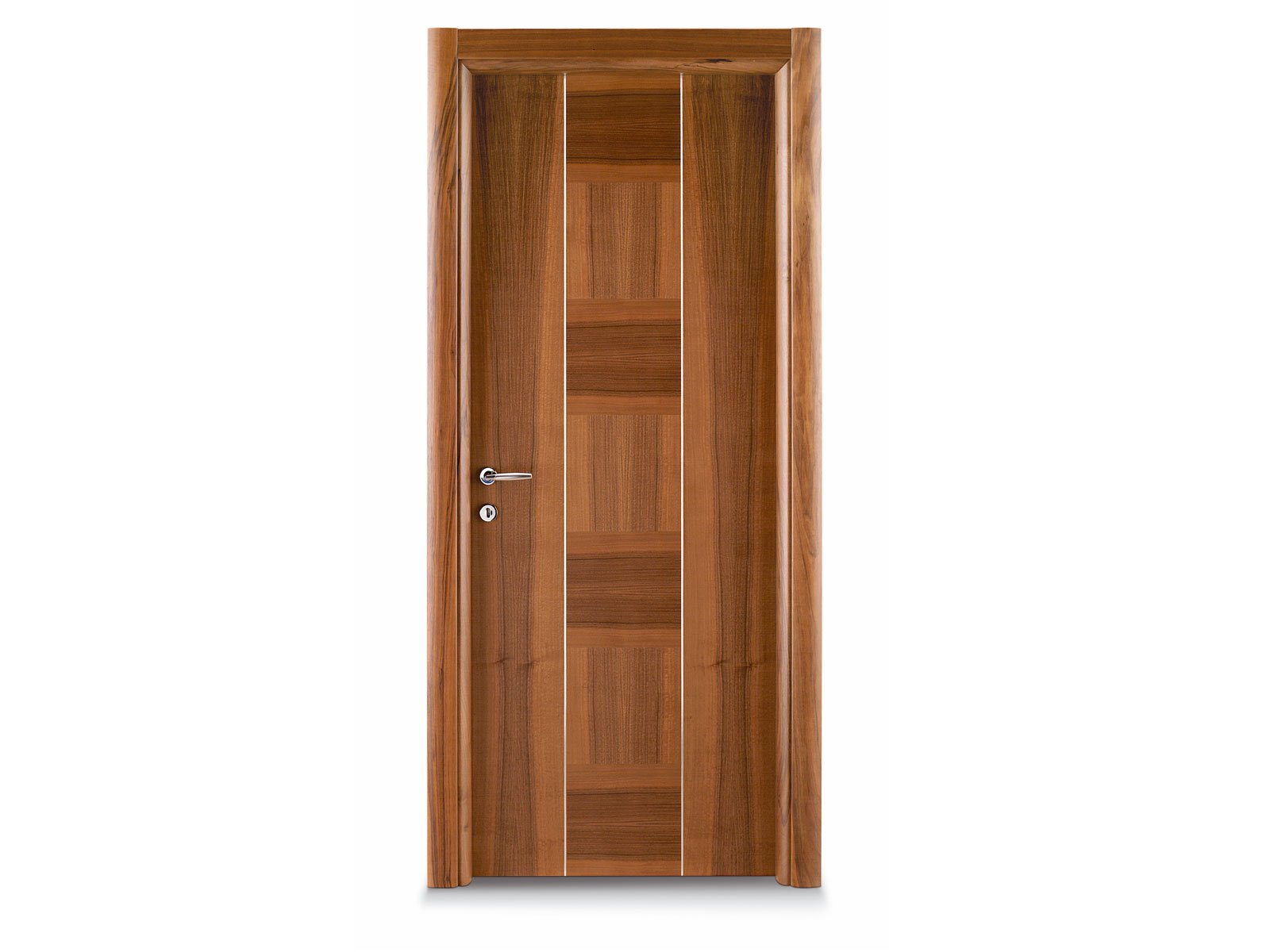Hinged wooden door dada by ghizzi benatti for Hardwood doors