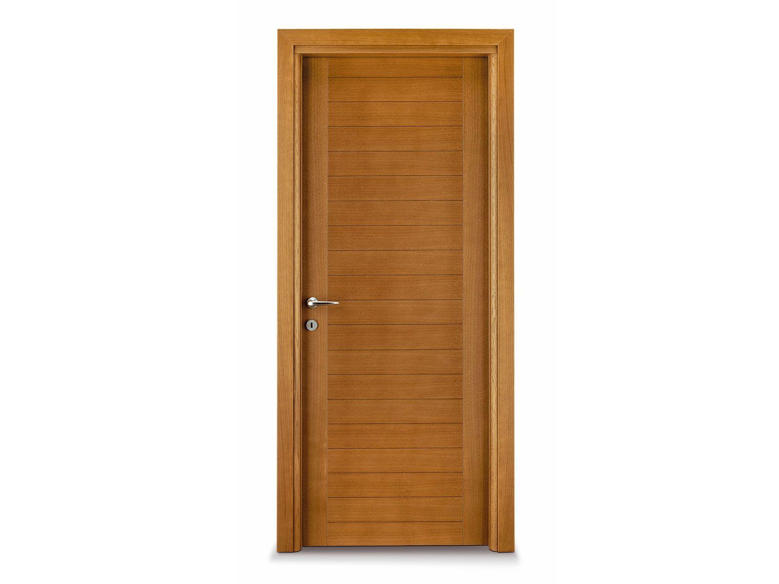 Puerta batiente de madera marina by ghizzi benatti for Precios en puertas de madera
