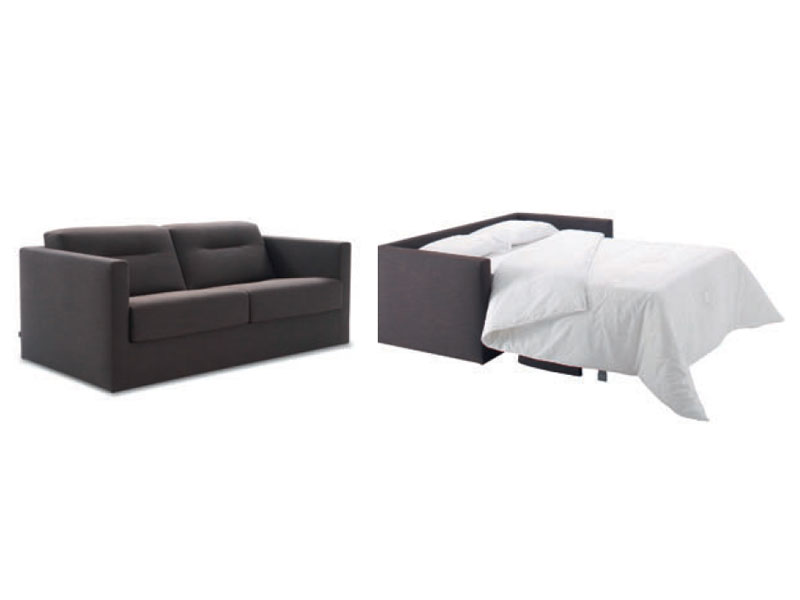 fabric sofa bed mostra by roset italia design didier gomez. Black Bedroom Furniture Sets. Home Design Ideas
