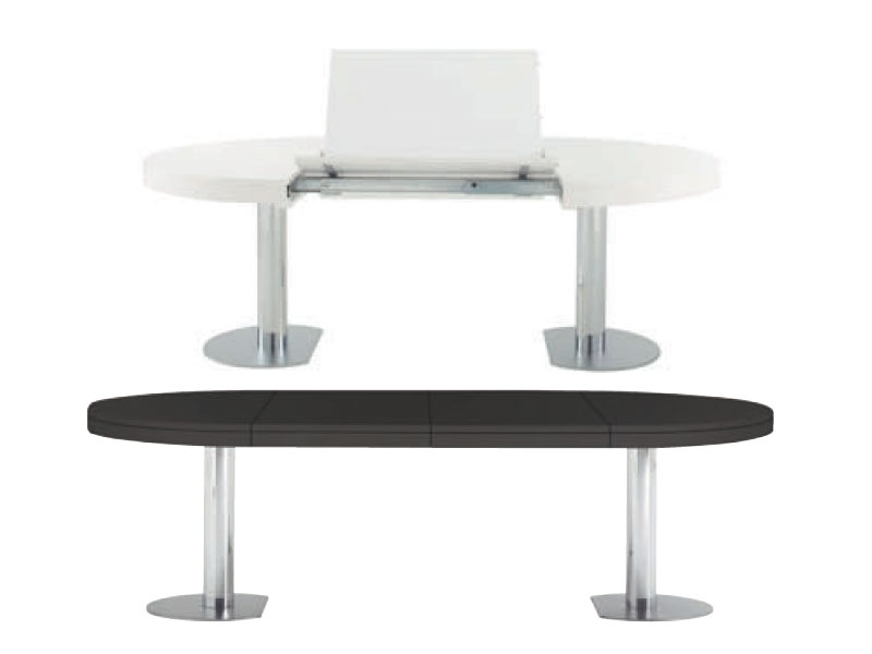 extending dining table craft 1 by roset italia design delo