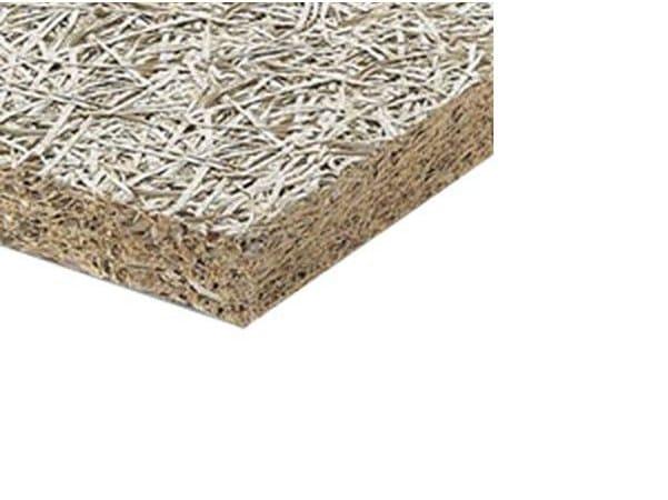 Panneau thermo isolant en fibre de bois min ralis e by re pack for Isolant fibre de bois