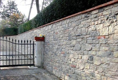 de pared de piedra para exterior garda by italpietra
