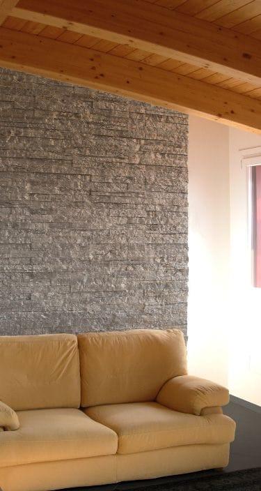 Revestimiento de pared de piedra natural quarzo by italpietra - Paredes de piedra natural ...