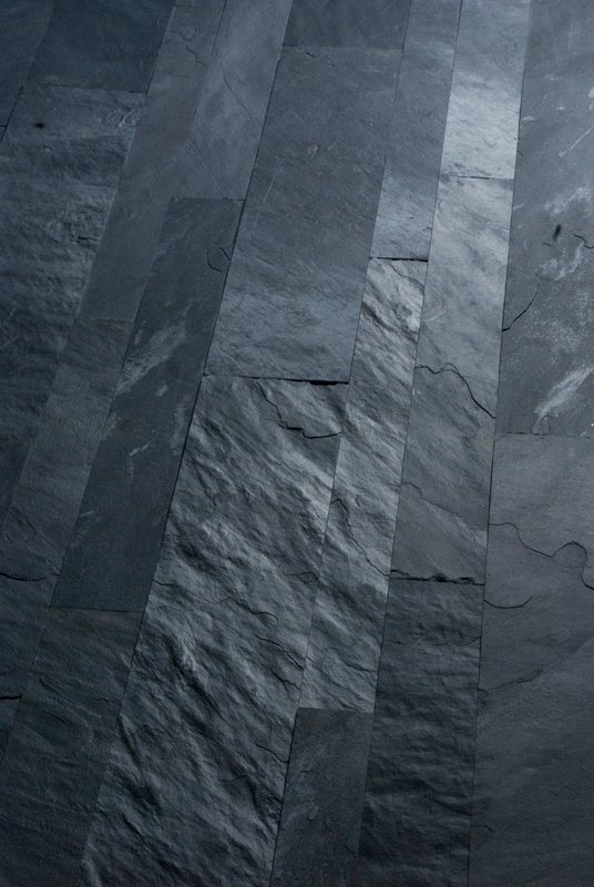 Slate flooring african blue by artesia international for Carrelage ardoise sol