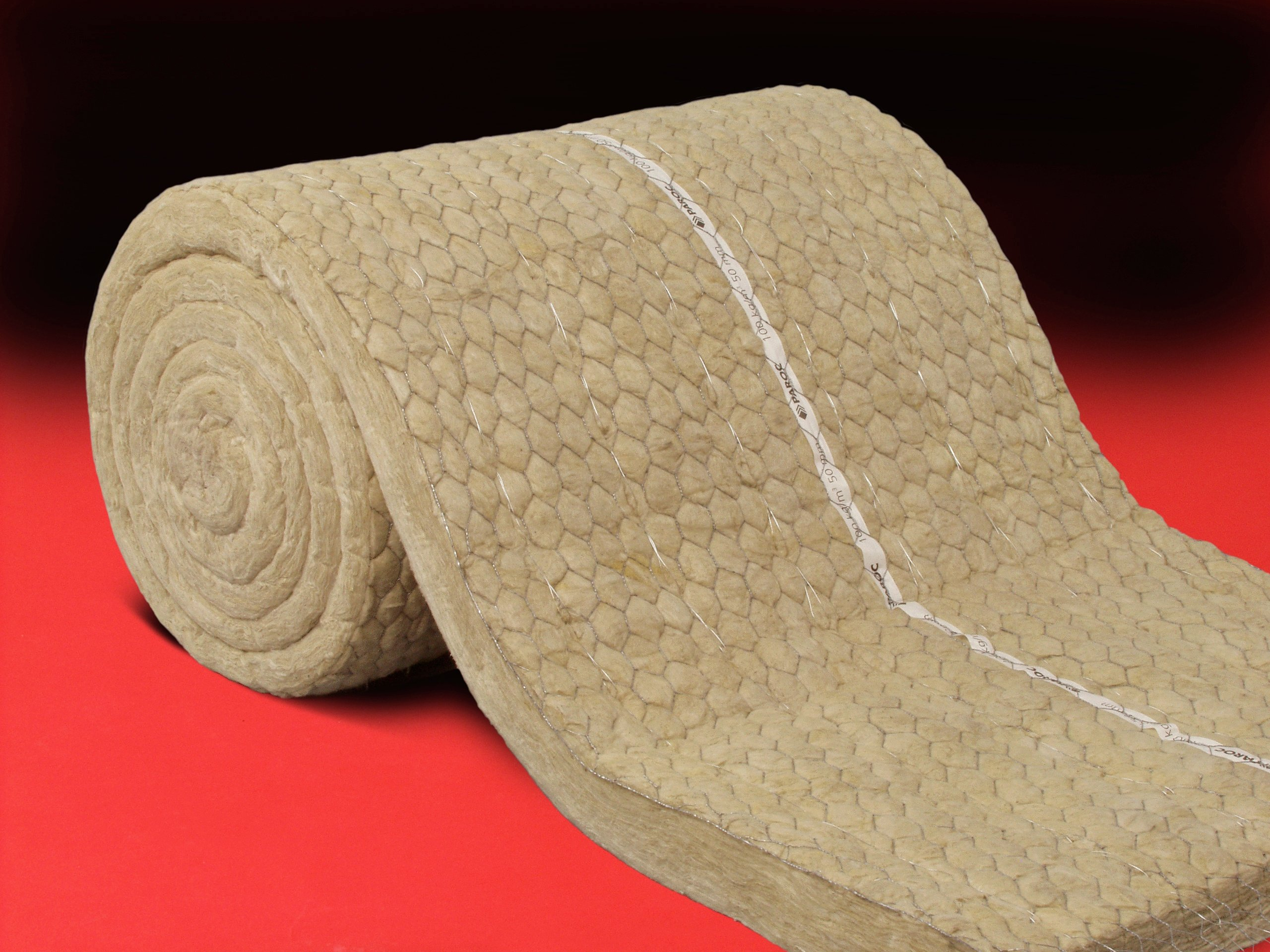 wool insulation rock wool intumescent covering paroc pro wired mat by link
