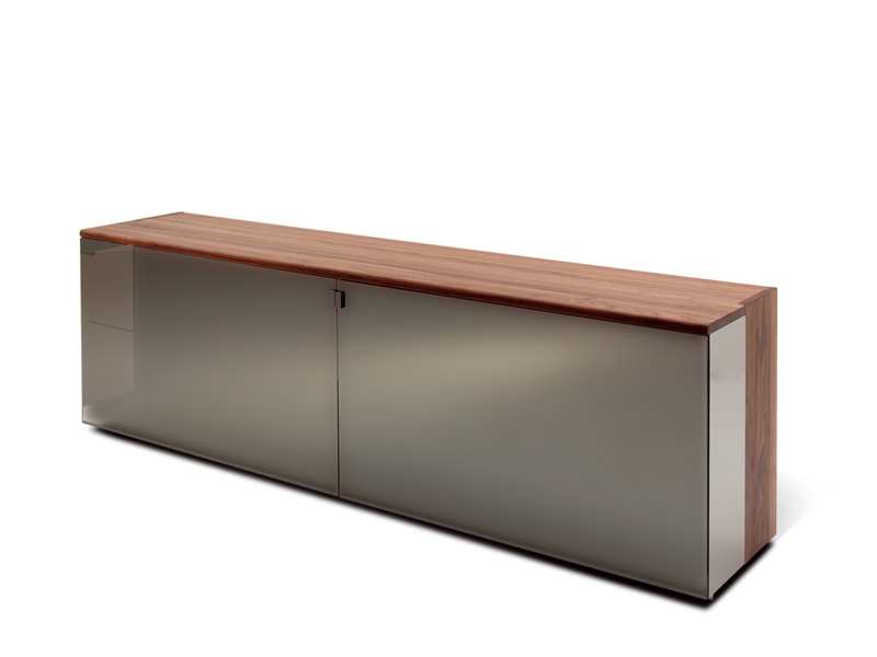 nox sideboard by team 7 nat rlich wohnen design jacob strobel. Black Bedroom Furniture Sets. Home Design Ideas