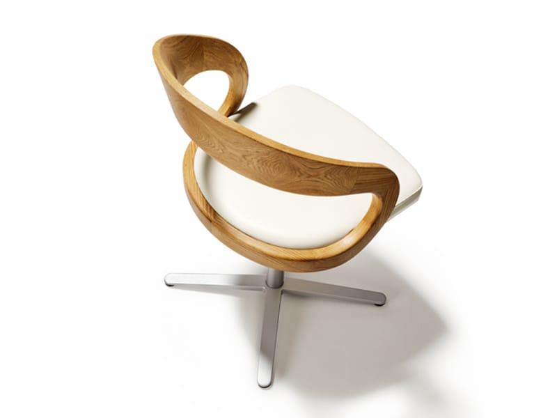 Girado chaise 4 branches by team 7 nat rlich wohnen for Chaise pivotante