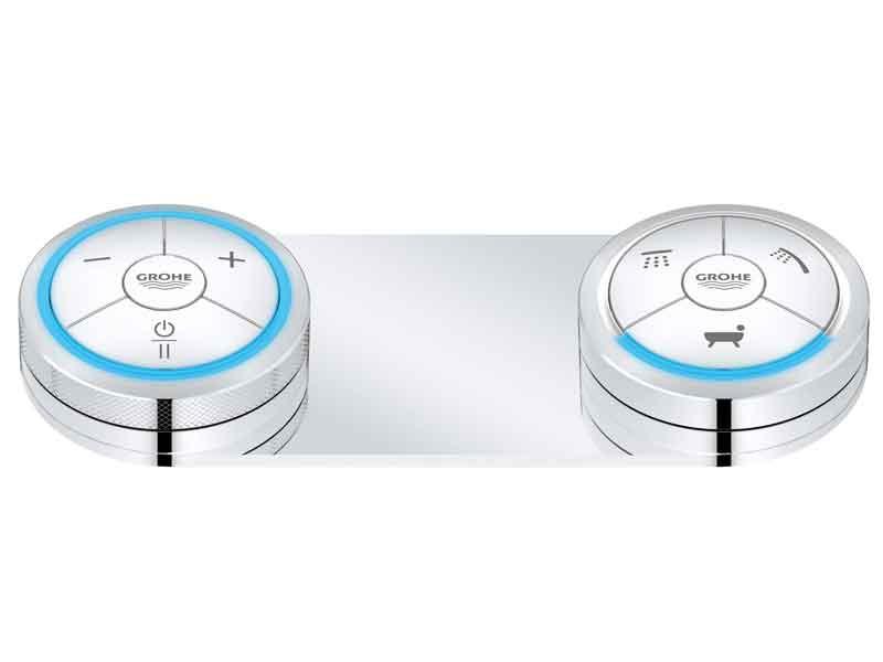 colonne de douche avec douchette grohe f digital by grohe. Black Bedroom Furniture Sets. Home Design Ideas