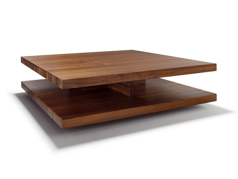 Table basse carr e en bois c3 by team 7 nat rlich wohnen - Table d architecte pas cher ...