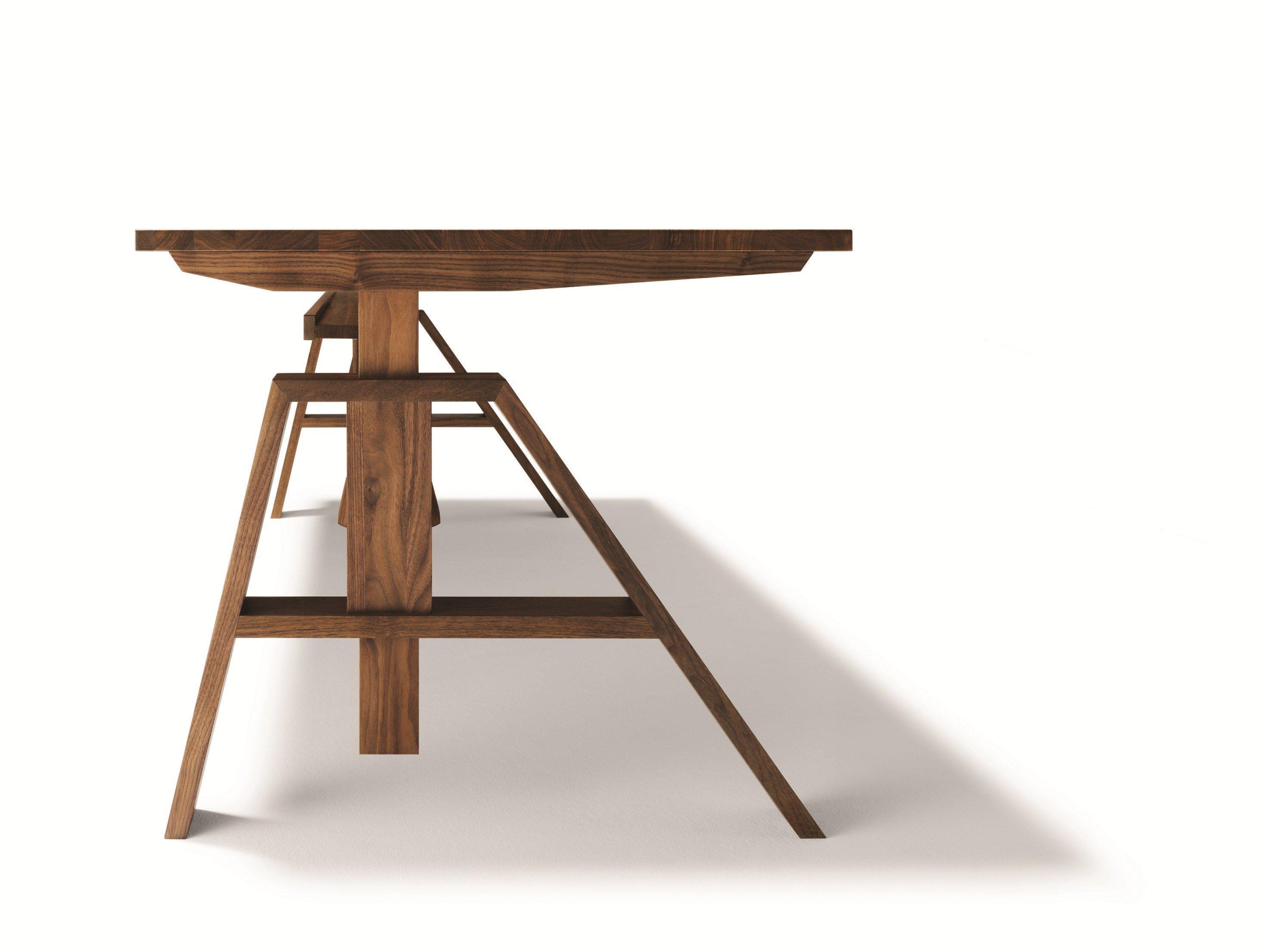 bureau r glable en hauteur atelier by team 7 nat rlich. Black Bedroom Furniture Sets. Home Design Ideas