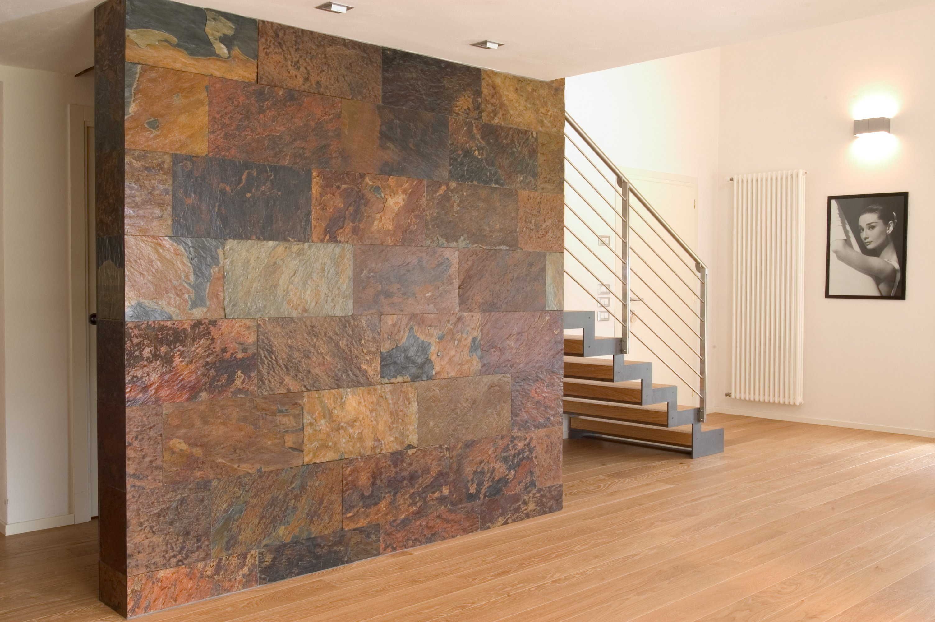 Revestimiento de pared suelo de piedra african sunset by for Revestimiento piedra interior