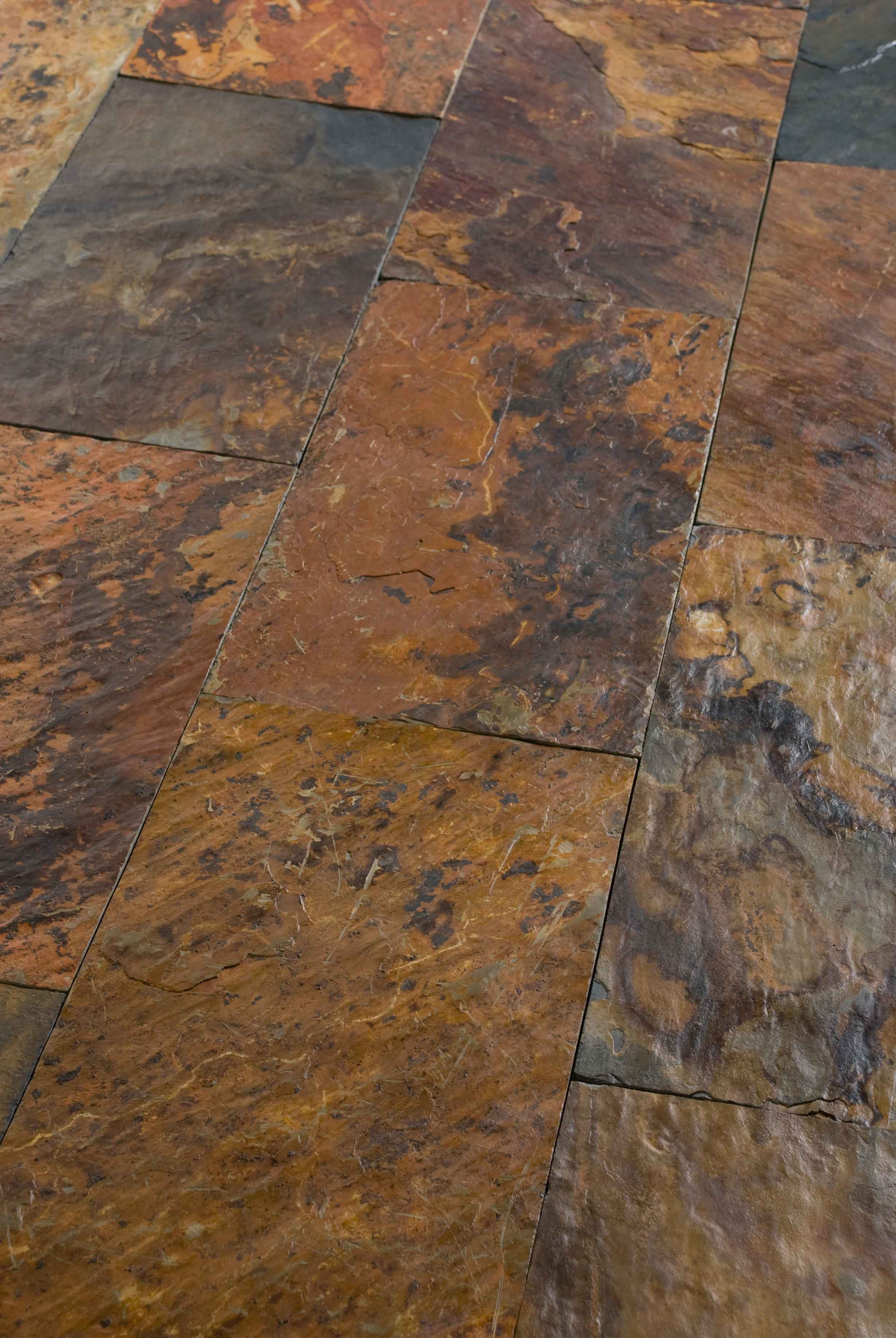 African Ceramic And Stone : Stone wall floor tiles african sunset by artesia