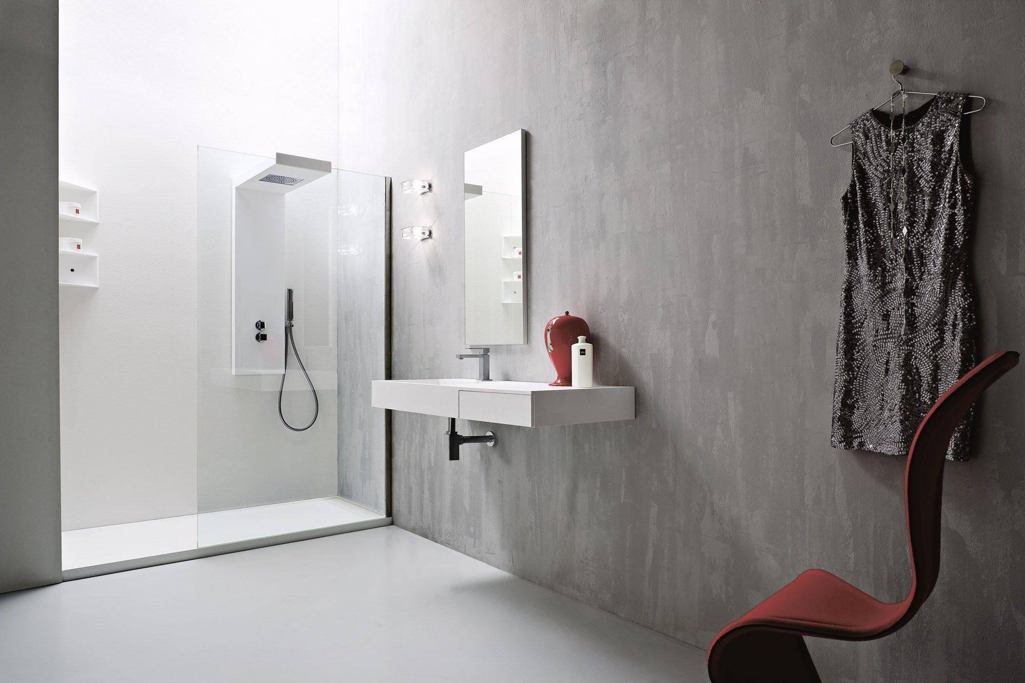 Argo piatto doccia by rexa design for Doccia design