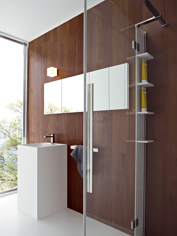 miroir pour salle de bain by rexa design. Black Bedroom Furniture Sets. Home Design Ideas