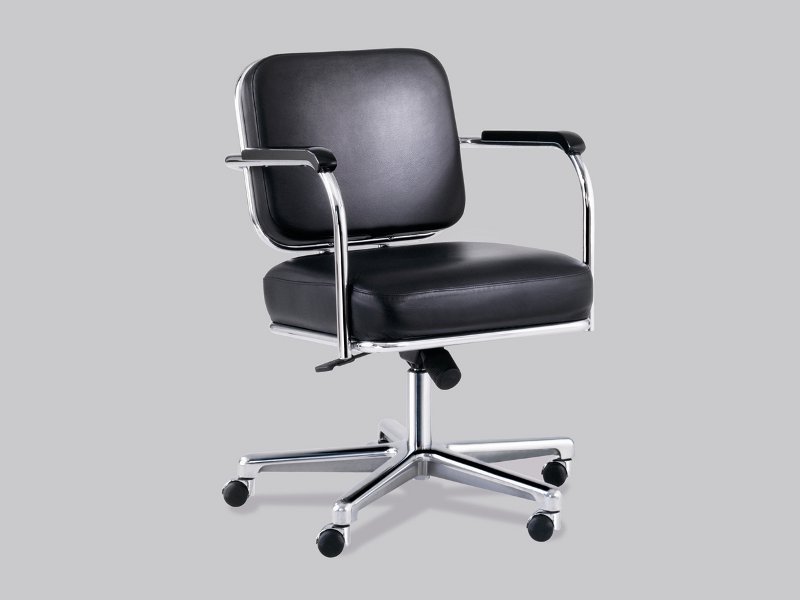 b rostuhl mit rollen kollektion classic line by m ller. Black Bedroom Furniture Sets. Home Design Ideas