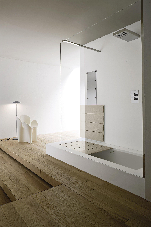 Unico vasca da bagno con doccia by rexa design design - Modelli di vasche da bagno ...