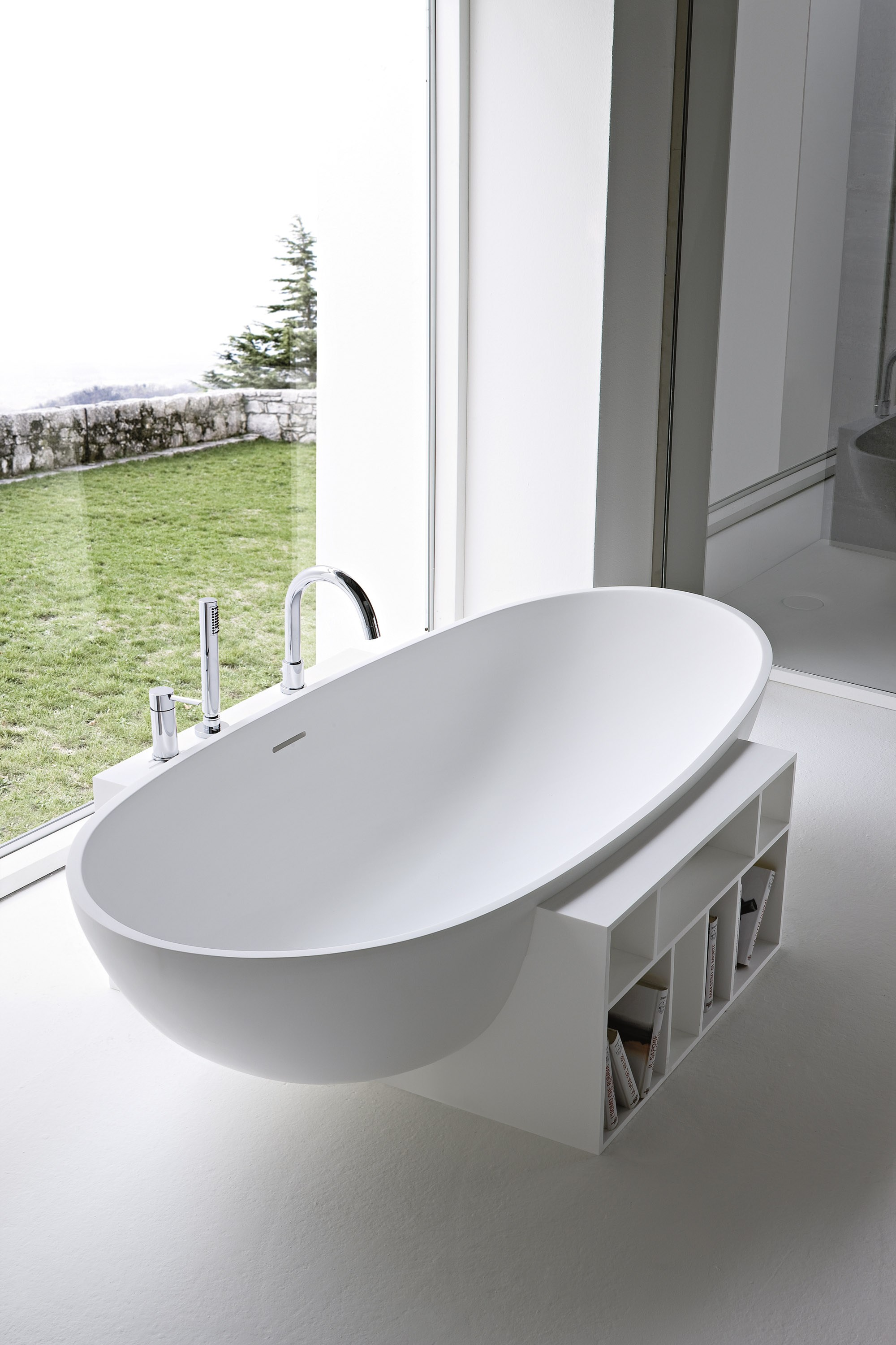 Freestanding oval korakril™ bathtub egg by rexa design design ...