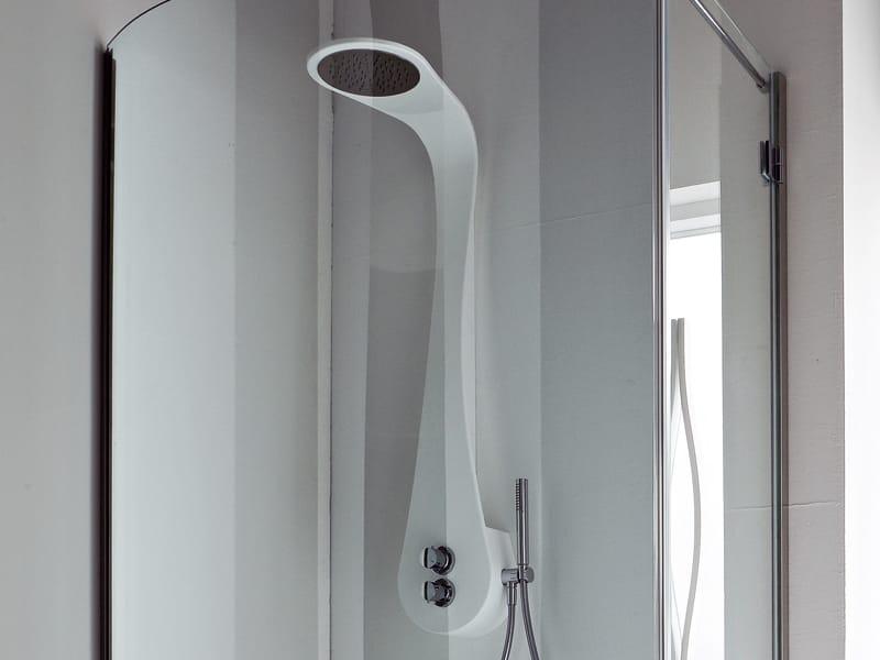 Boma colonne de douche by rexa design design imago design - Colonne de douche blanche design ...