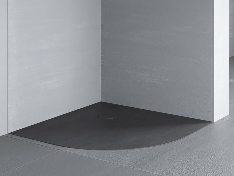 Razor piatto doccia angolare by glass 1989 - Piatto doccia filo pavimento opinioni ...