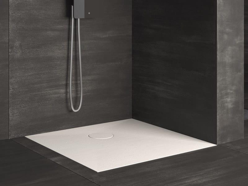 Razor piatto doccia quadrato by glass 1989 - Piatto doccia filo pavimento opinioni ...