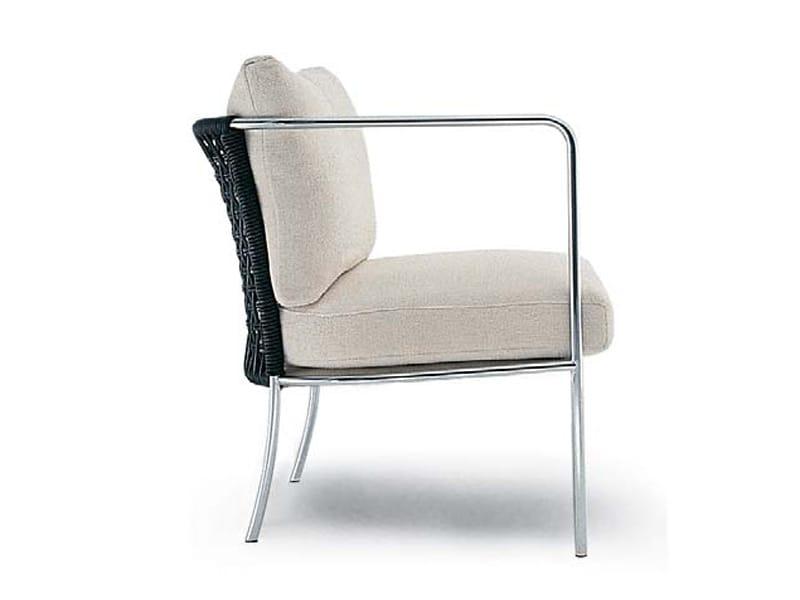 CAFÉ Garden armchair by Living Divani design Piero Lissoni