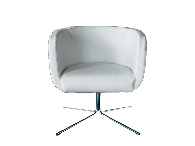 SWIVEL UPHOLSTERED ARMCHAIR JELLY COLLECTION BY LIVING ...