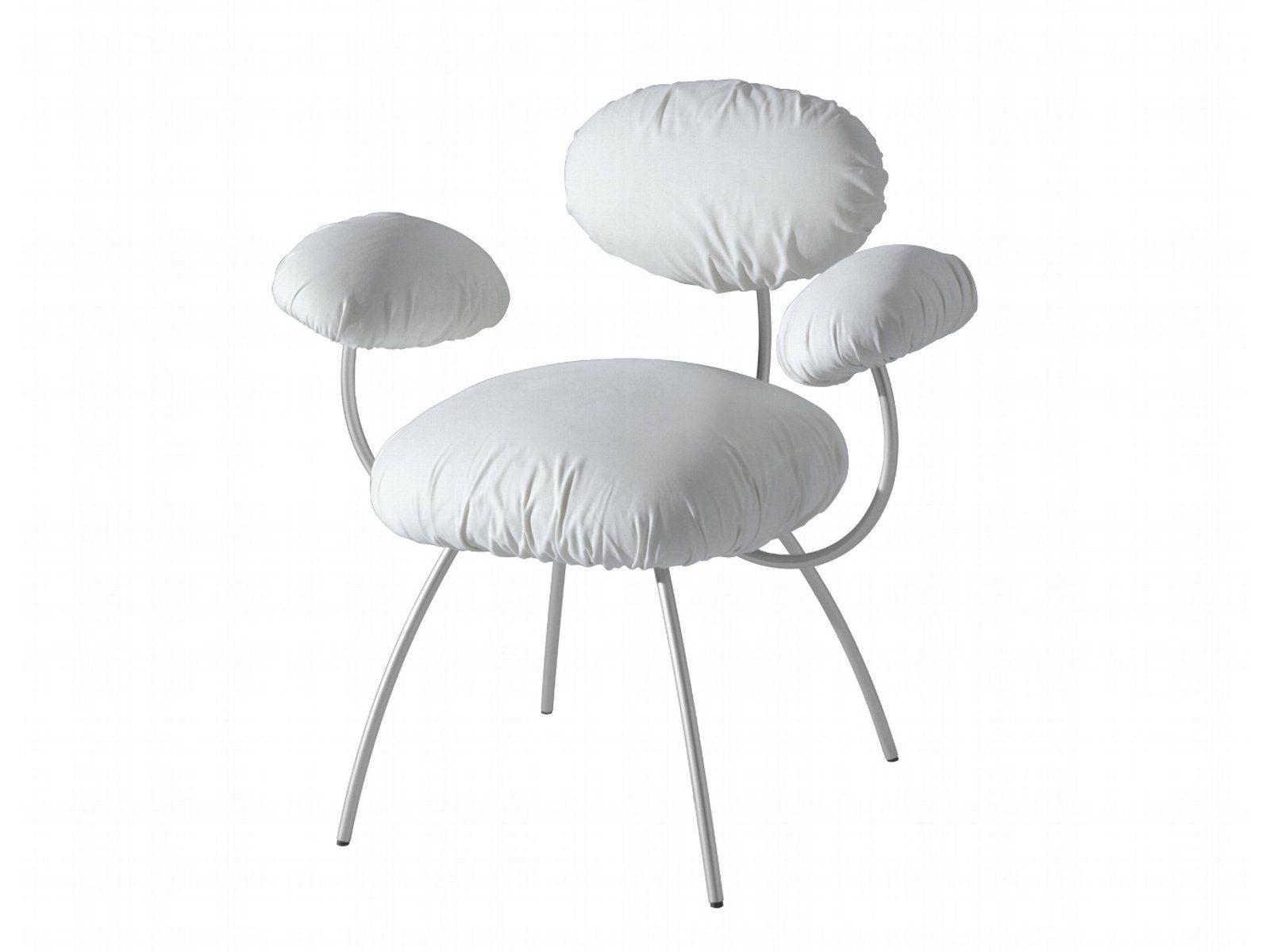 upholstered chair with armrests saint james by roset italia design jean nouvel. Black Bedroom Furniture Sets. Home Design Ideas