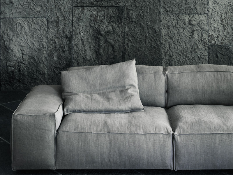 Sectional sofa with removable cover NEOWALL by Living ...