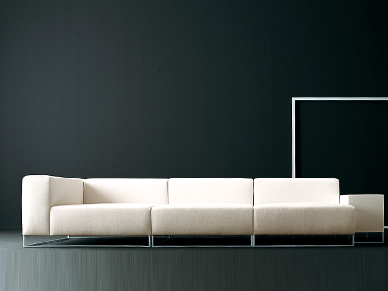 wall2 sofa by living divani design piero lissoni